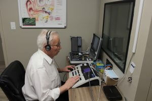 Erik Roggenkamp Hearing test Erik's Hearing Care